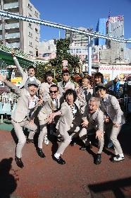 スカパラ×峯田和伸、ハシヅメユウヤが手掛けた新シングルのジャケット公開 アーティスト写真も解禁に