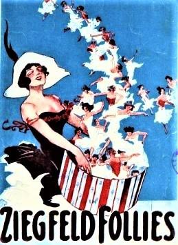 『1912年のジーグフェルド・フォーリーズ』のポスター