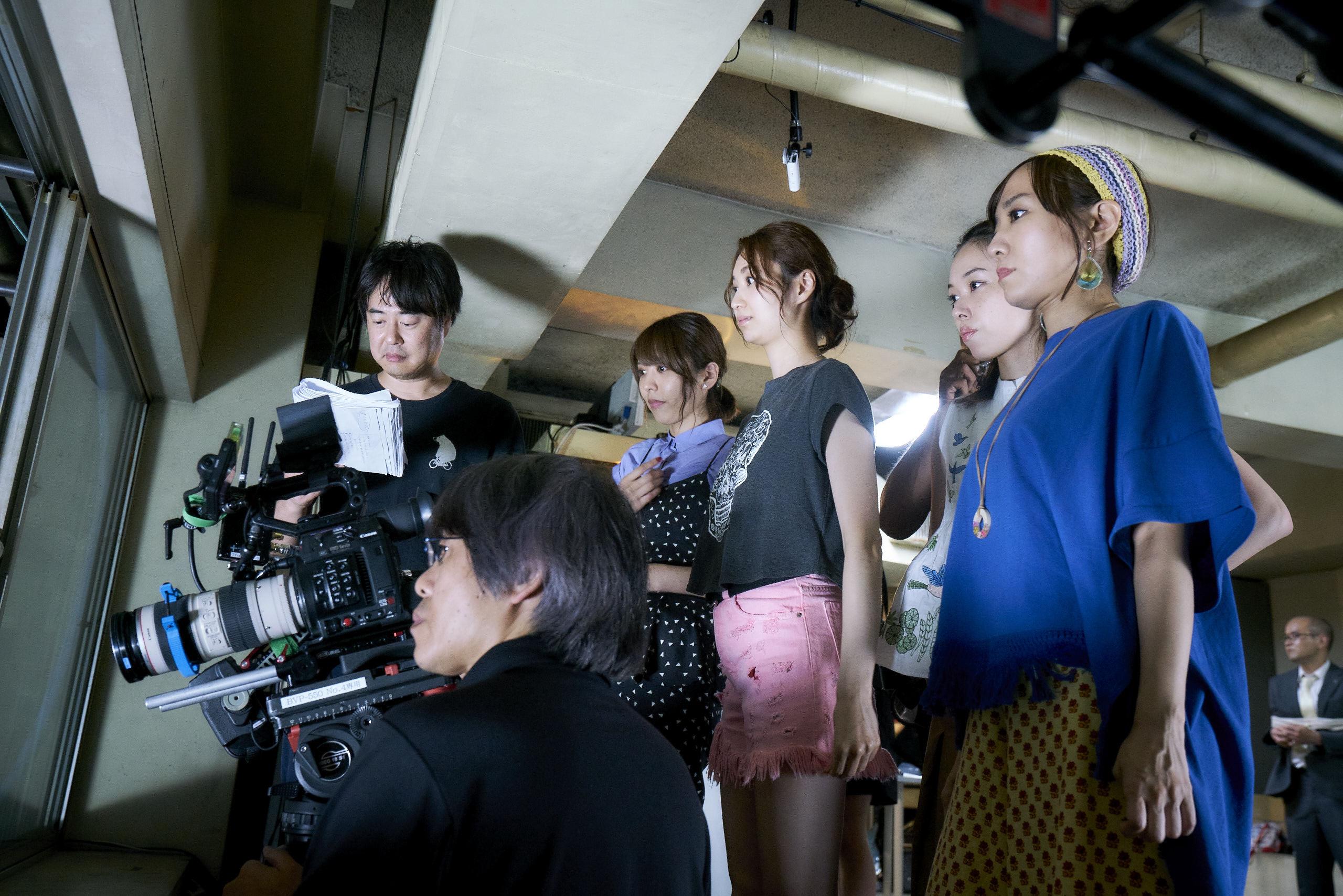 徳尾浩司監督 「SHELTER」撮影風景  (C)2019「劇団スフィア」製作委員会