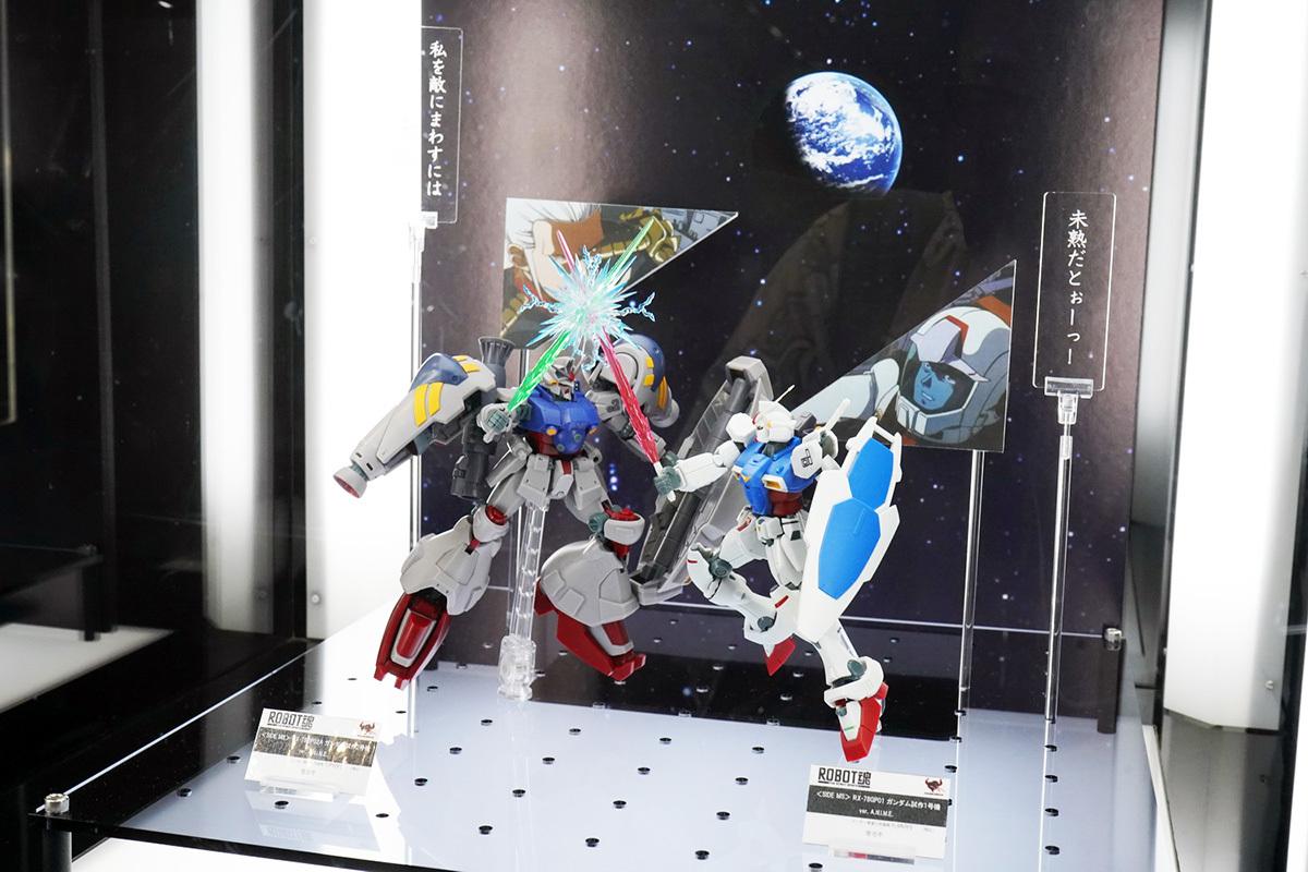 「ROBOT魂」シリーズ展示