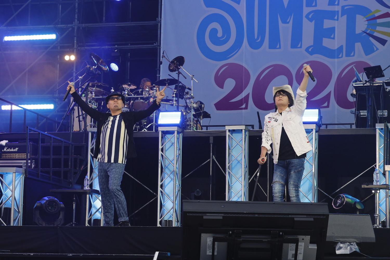 ▲おれパラPRESENTS ORE!!SUMMER 2020ライブ写真(カメラマン:草刈雅之)
