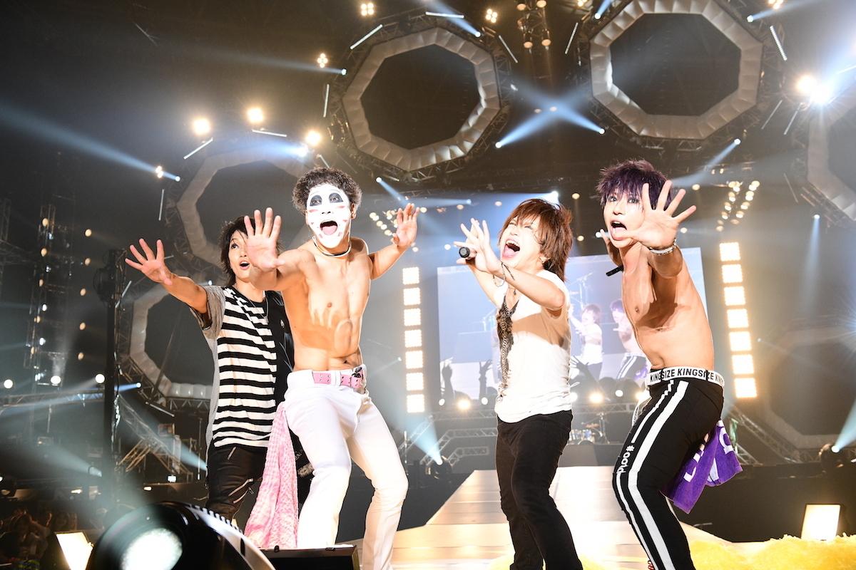 ゴールデンボンバー ©テレビ朝日 ドリームフェスティバル 2018 / 写真:岸田哲平