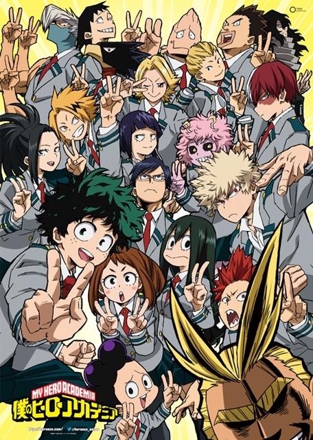 TVアニメ『ヒロアカ』の新シリーズが3月25日より放送開始!