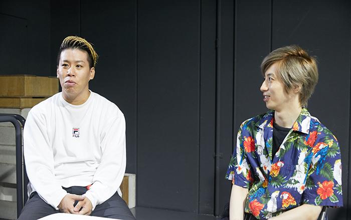 (左から)伊藤今人、千葉涼平