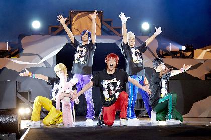 アルスマグナ、ツアー最終公演でロックの神・シノ爆ロック(篠原信一)が大暴れ
