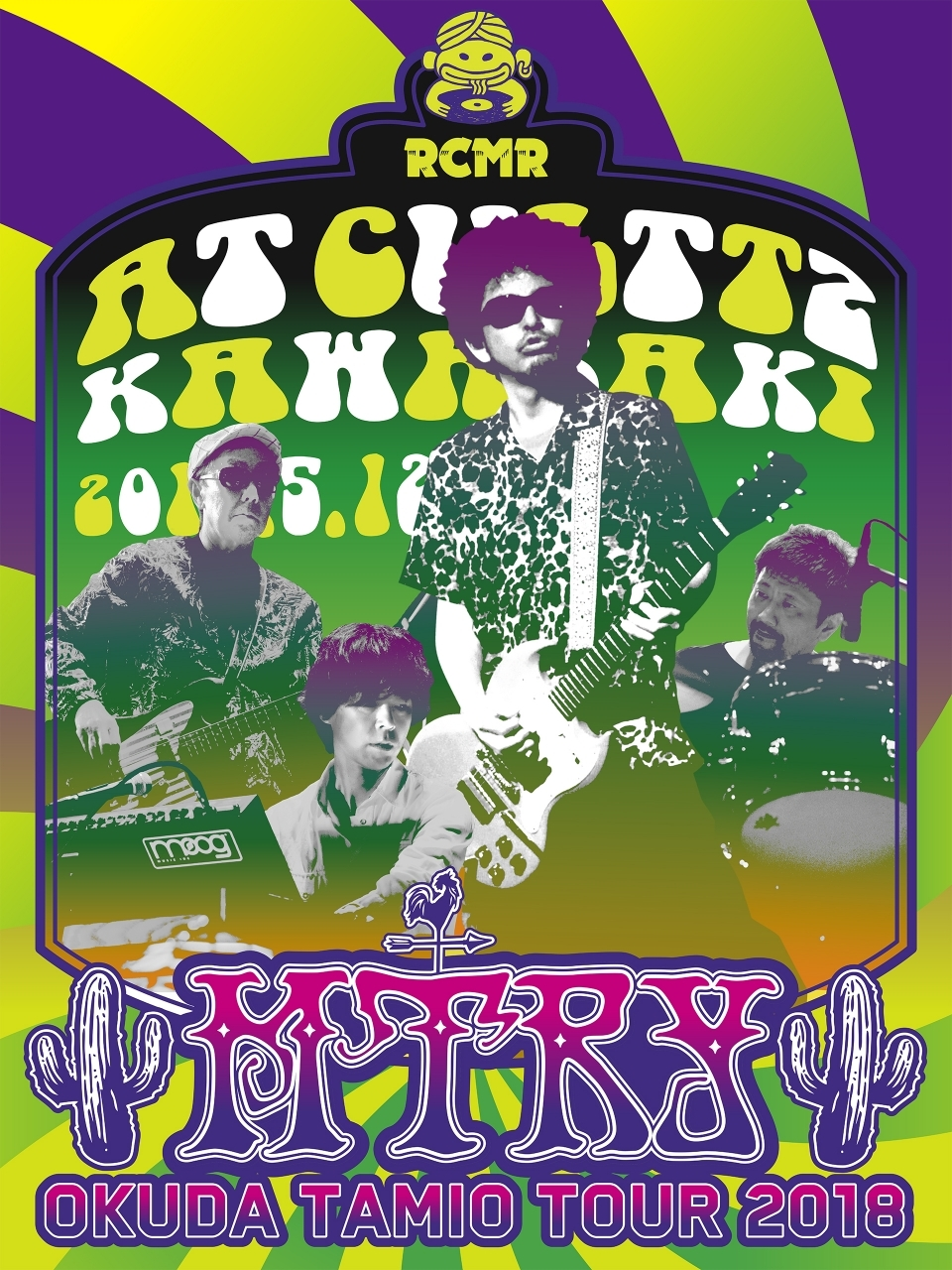 『奥田民生 MTRY TOUR 2018@カルッツかわさき』