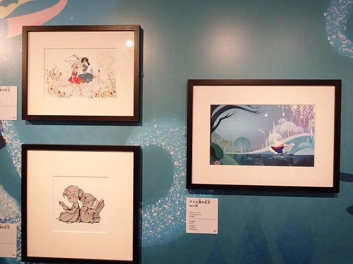 『アナと雪の女王』コンセプトアート All Disney artwork © Disney Enterprises Inc.
