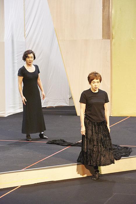 (左から)キムラ緑子、大竹しのぶ (撮影:矢野智美)