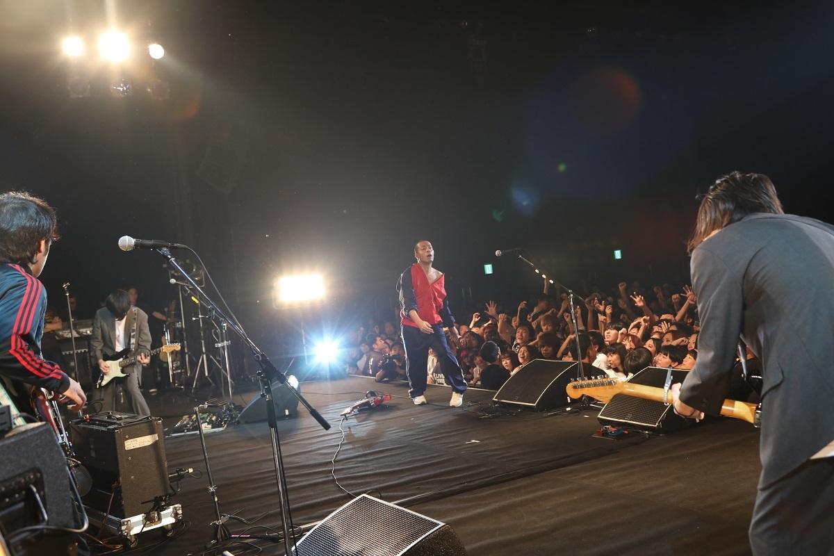 銀杏BOYZ 撮影=村井香