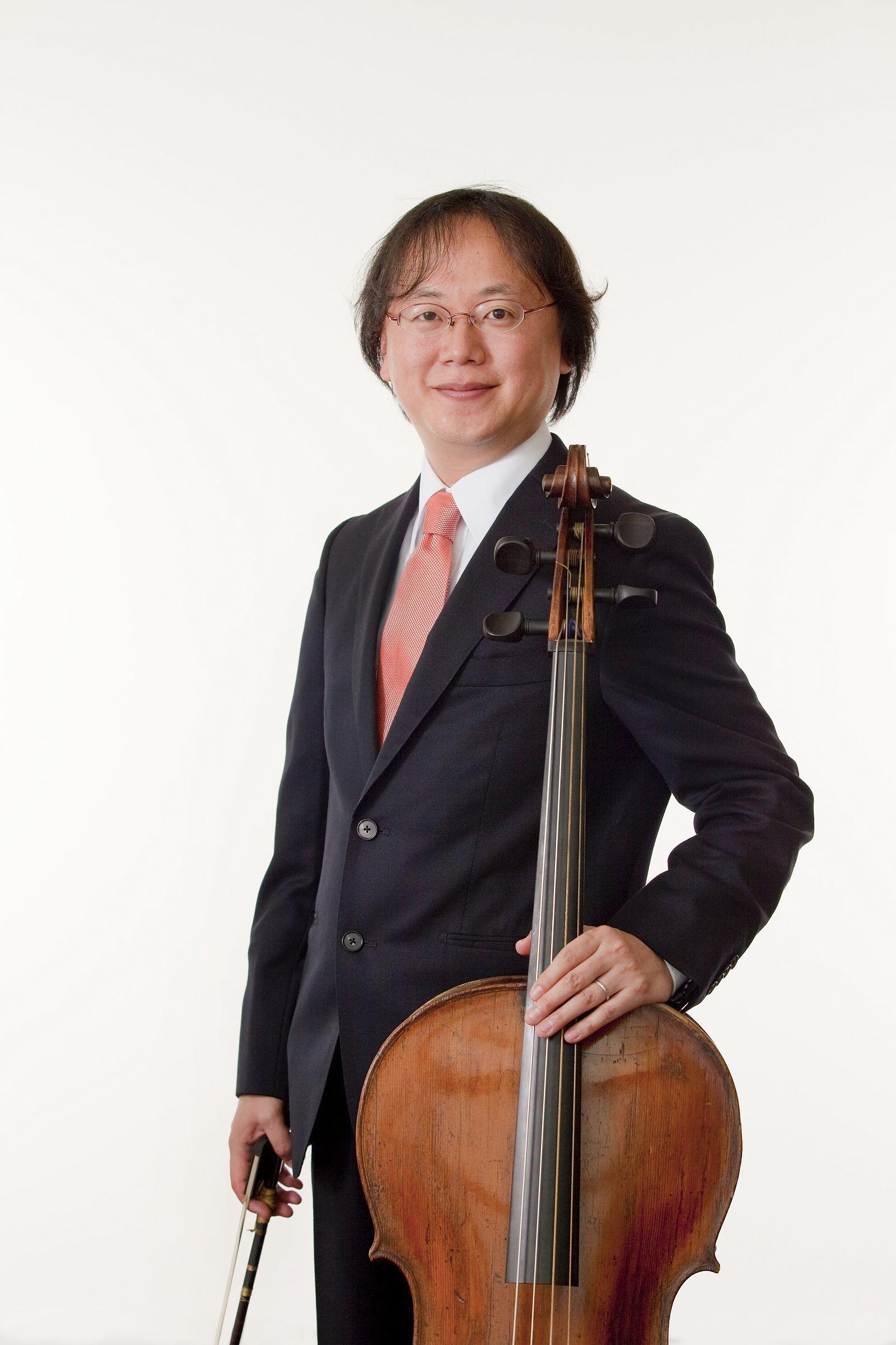 懸田貴嗣は一線で活躍するバロック・チェロ奏者だ (C)K.Miura