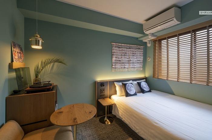 HOTEL SHE, KYOTOの客室(写真は通常営業時)