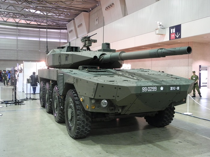 自衛隊から、本物の戦車