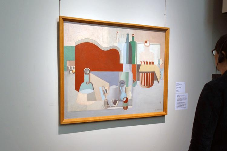 シャルル=エドゥアール・ジャンヌレ(ル・コルビュジエ)《アンデパンダン展の大きな静物》1922年 ストックホルム近代美術館