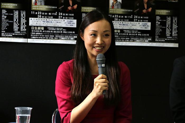 清野友香莉 (撮影:安藤光夫)