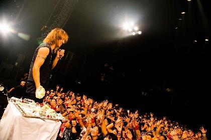 """J 赤坂BLITZ 3days完全燃焼、バースデーライブでは恒例の""""ケーキの雨""""も"""