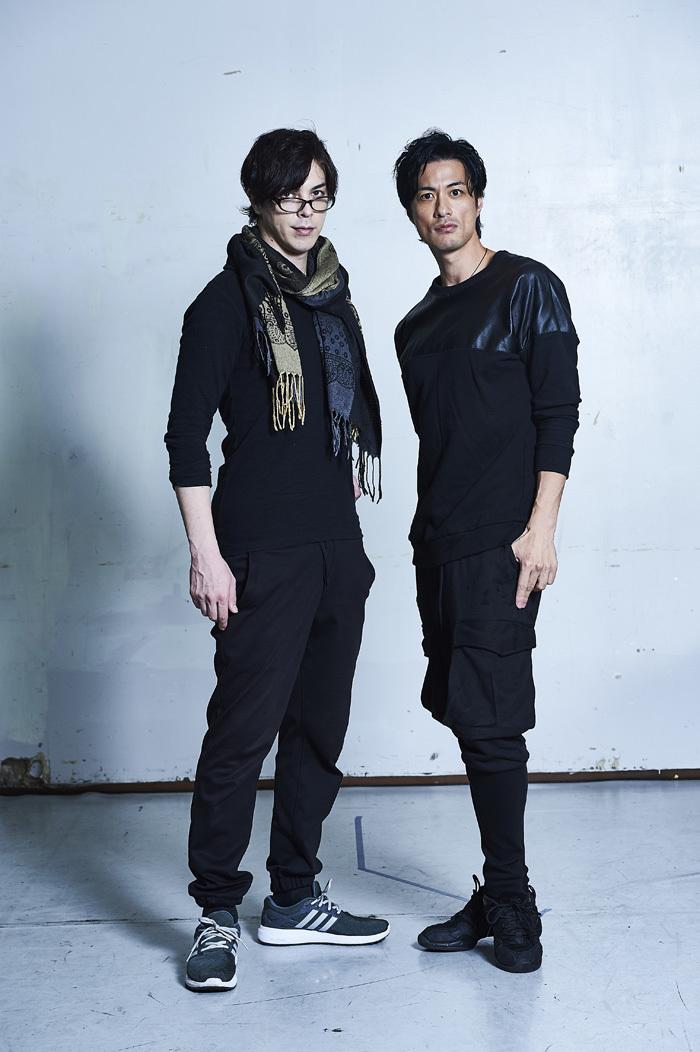 (左から)汐崎アイル、進藤学