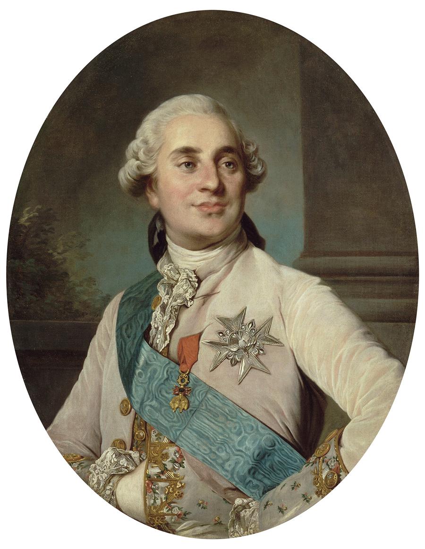 ジョゼフ・シフレ・デュプレシ《ルイ16世》1774年 ヴェルサイユ宮殿美術館