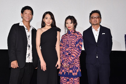知英「今回は感情的にもセンシティブな役」 日米合作映画『殺る女』初日舞台挨拶レポート