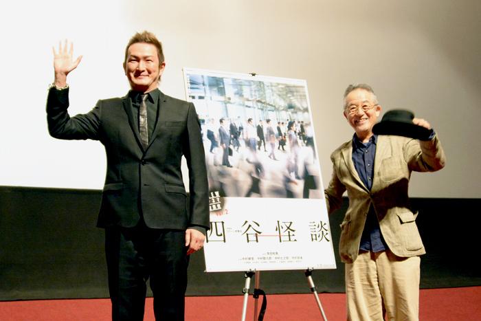 NEWシネマ歌舞伎『四谷怪談』初日舞台挨拶 中村獅童、串田和美