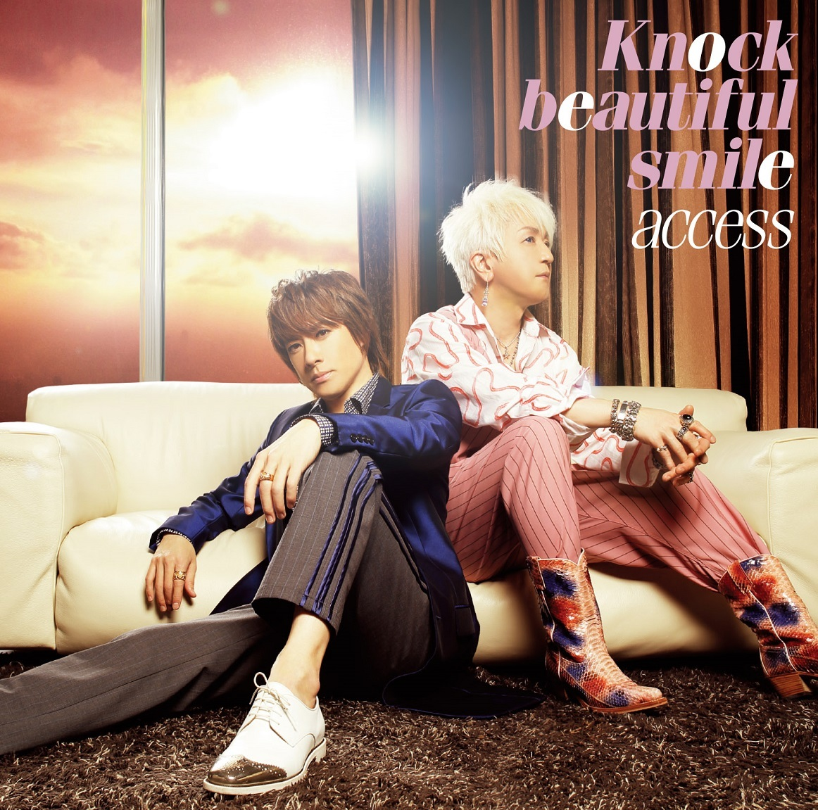 access「Knock beautiful smile」通常盤B
