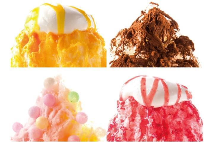 ※yelo CAFE カキ氷例