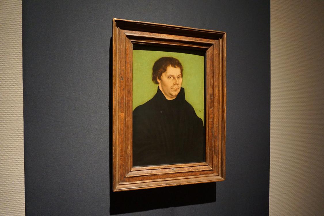 ルカス・クラーナハ(父)《マルティン・ルター》 1525年 ブリストル市立美術館            © Bristol Museums,Galleries&Archives