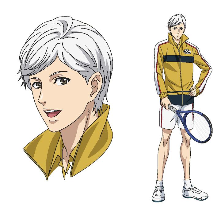 ⽟川よしお 設定画 (C)許斐 剛/集英社・NAS・新テニスの王⼦様プロジェクト