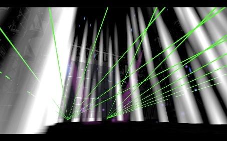 超現実ライブ#1」ライブステージイメージパース