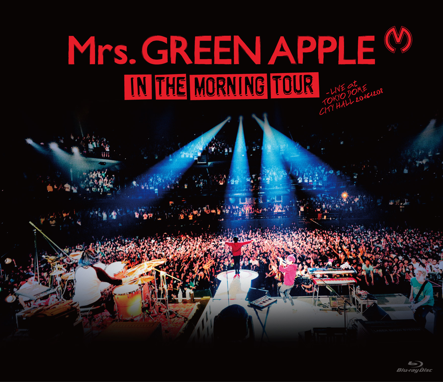 Mrs. GREEN APPLE『In the Morning Tour - LIVE at TOKYO DOME CITY HALL 20161208』BD