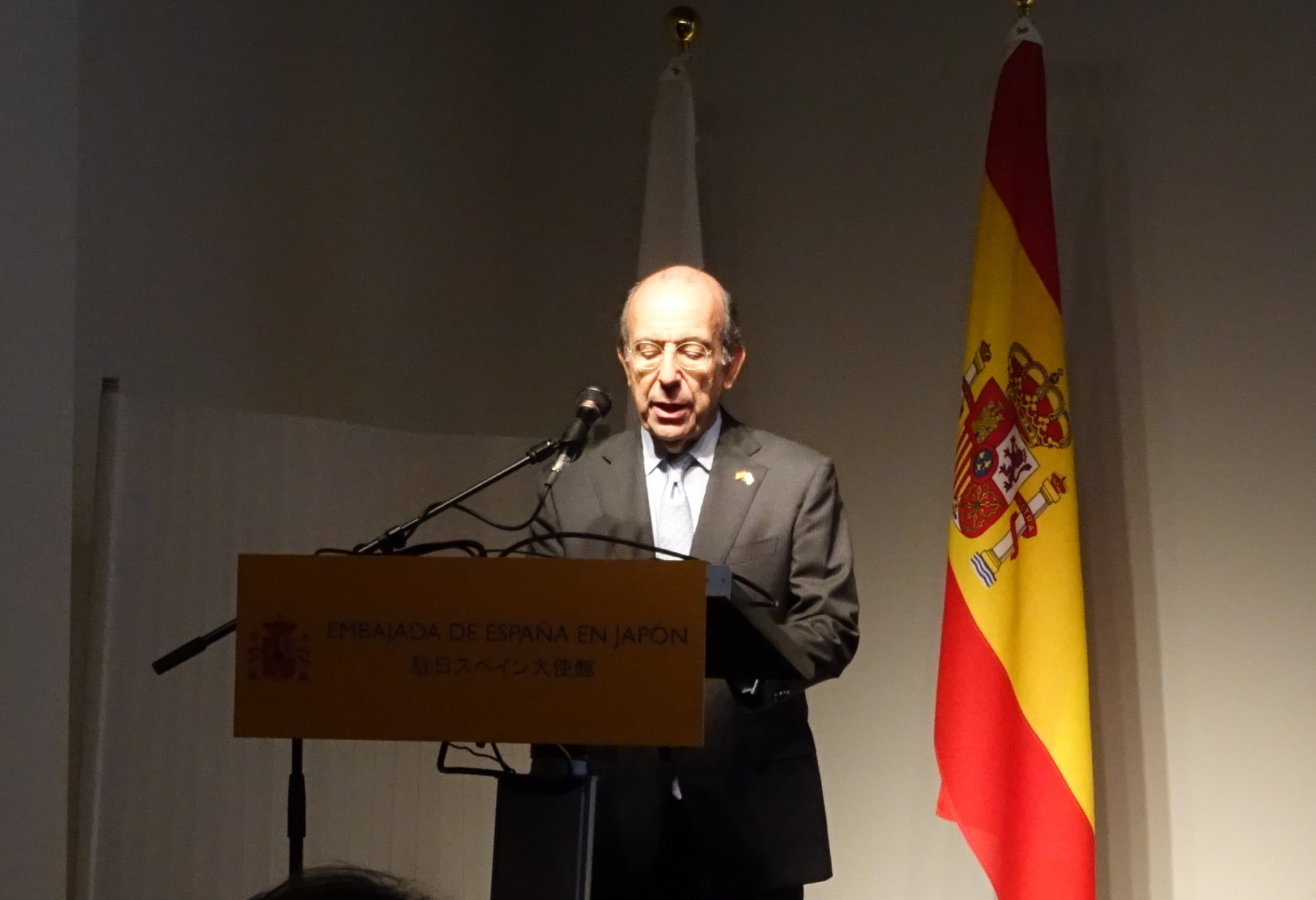 スペイン大使館 駐日スペイン大使 ゴンサロ・デ・ベニト氏