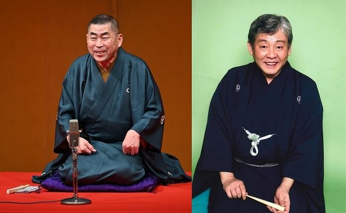 (左から)桂南光、柳家喬太郎