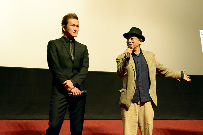 NEWシネマ歌舞伎『四谷怪談』舞台挨拶 中村獅童、串田和美
