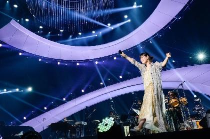 絢香、自身最大規模の10周年アリーナツアーが開幕「皆が喜んで、ハッと驚いてくれる、そんな作品を作っていきたい」