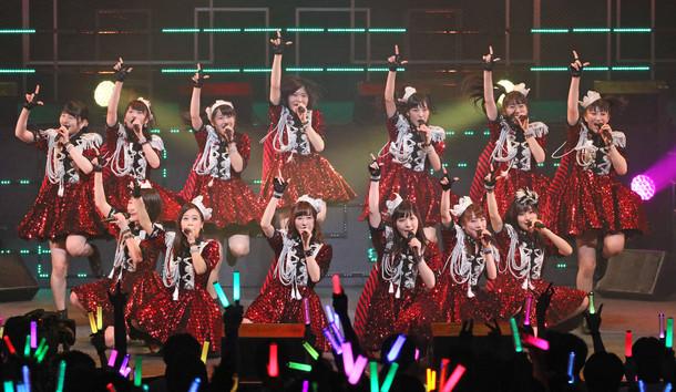 「モーニング娘。'17コンサートツアー春~THE INSPIRATION!~」初日公演の様子。