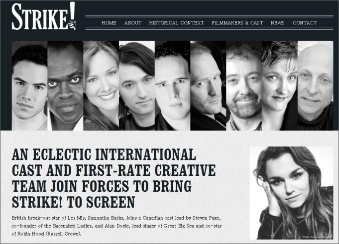 STRIKE!サイトより(SPICE編集部責任による画像掲載)