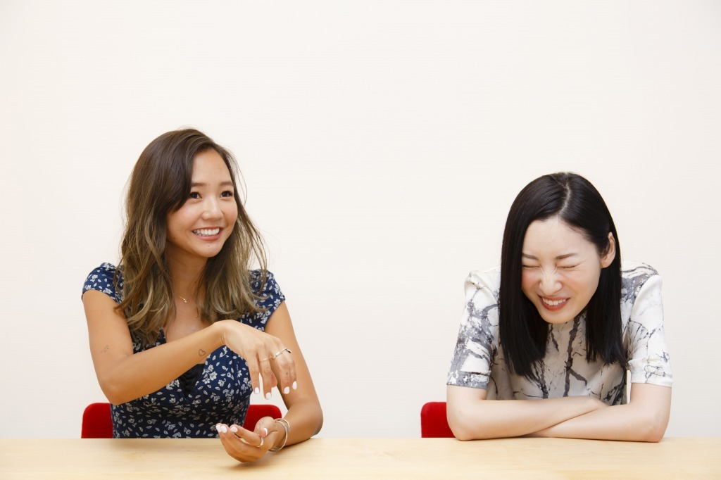 BabyKiy、ソンミ  撮影=中田智章