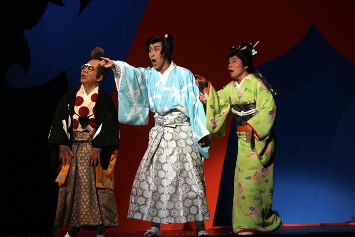 ミュージカル『狸御殿』小倉久寛、尾上松也、青木さやか
