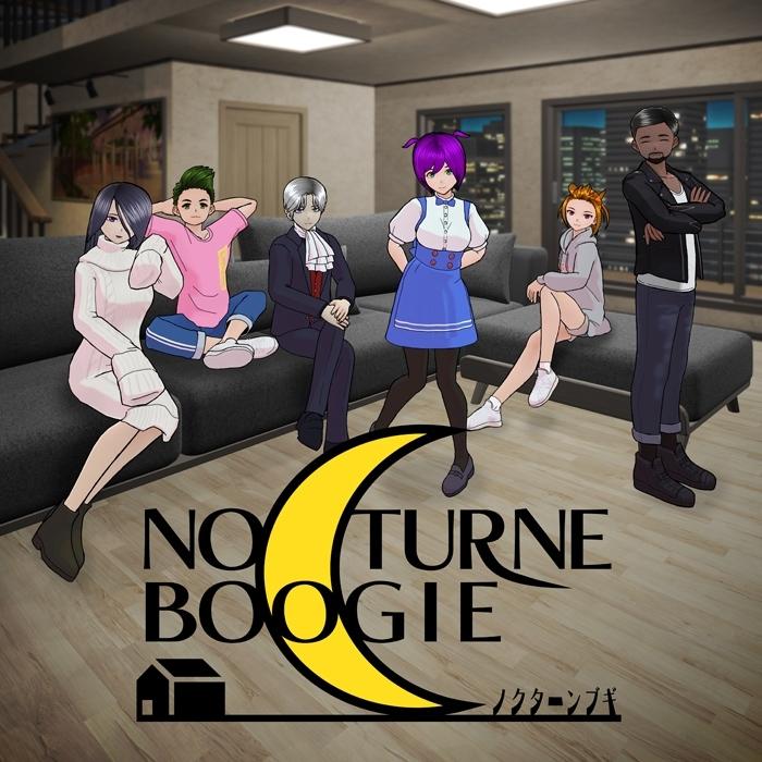 ショートアニメ『ノクターンブギ 』 (C)Story Effect Co.Ltd.