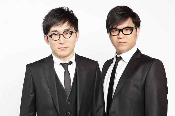 シソンヌじろう(左)・長谷川忍(右)