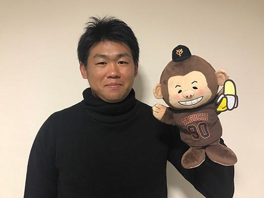 読売巨人軍は田口麗斗投手の侍ジャパン選出を祝して、ハンドパペット「モンキーかずとくん。」を販売中