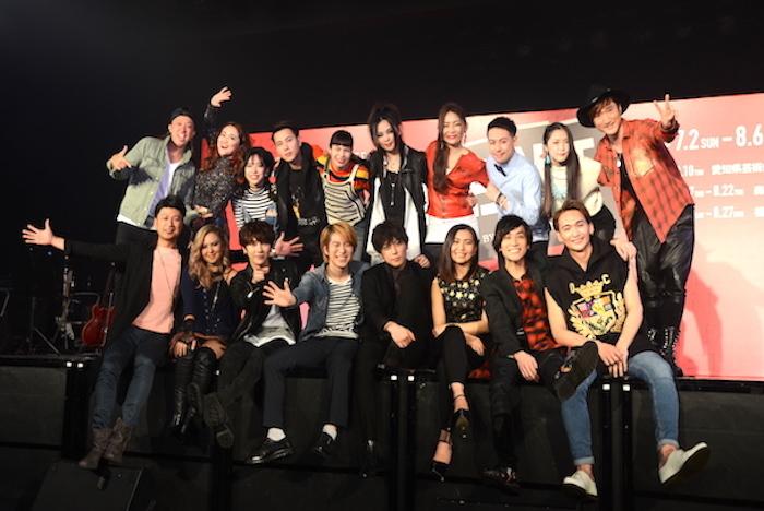 日本版ブロードウェイ・ミュージカル『RENT』の出演者たち
