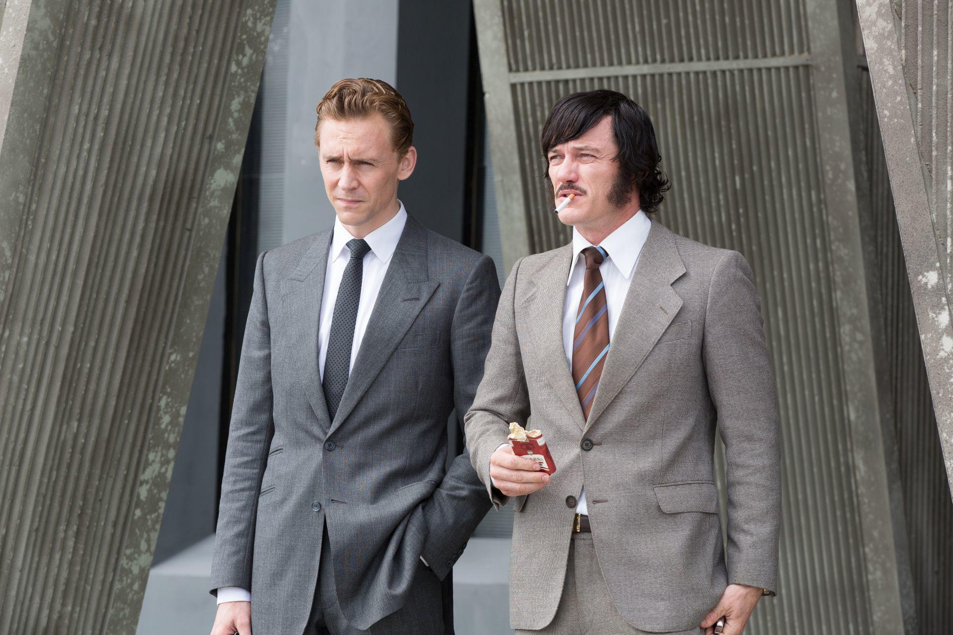 英国俳優といえばスーツですね