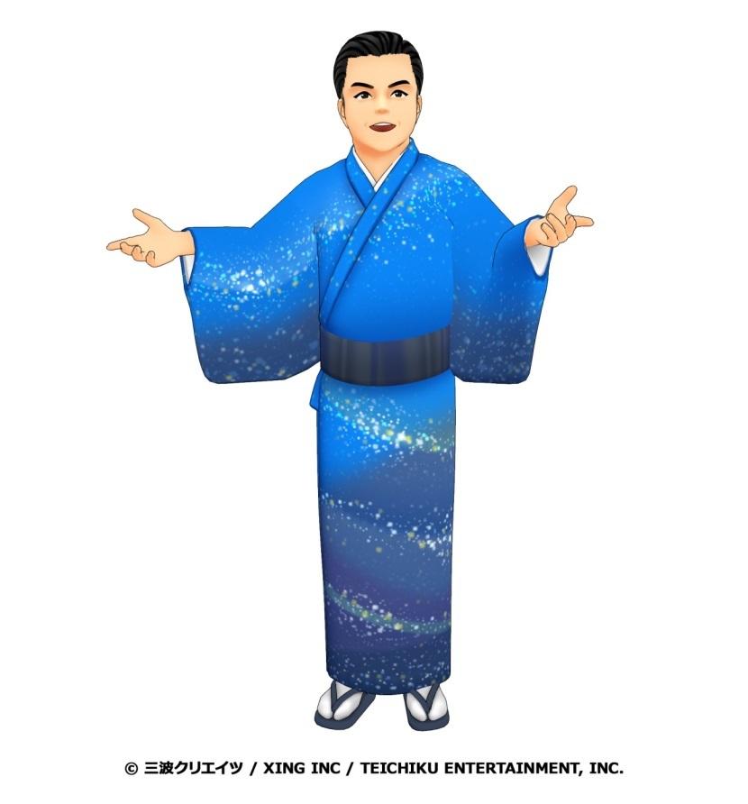 『ハルオロイド・ミナミ』 (C)三波クリエイツ / XING INC / TEICHIKU ENTERTAINMENT, INC.