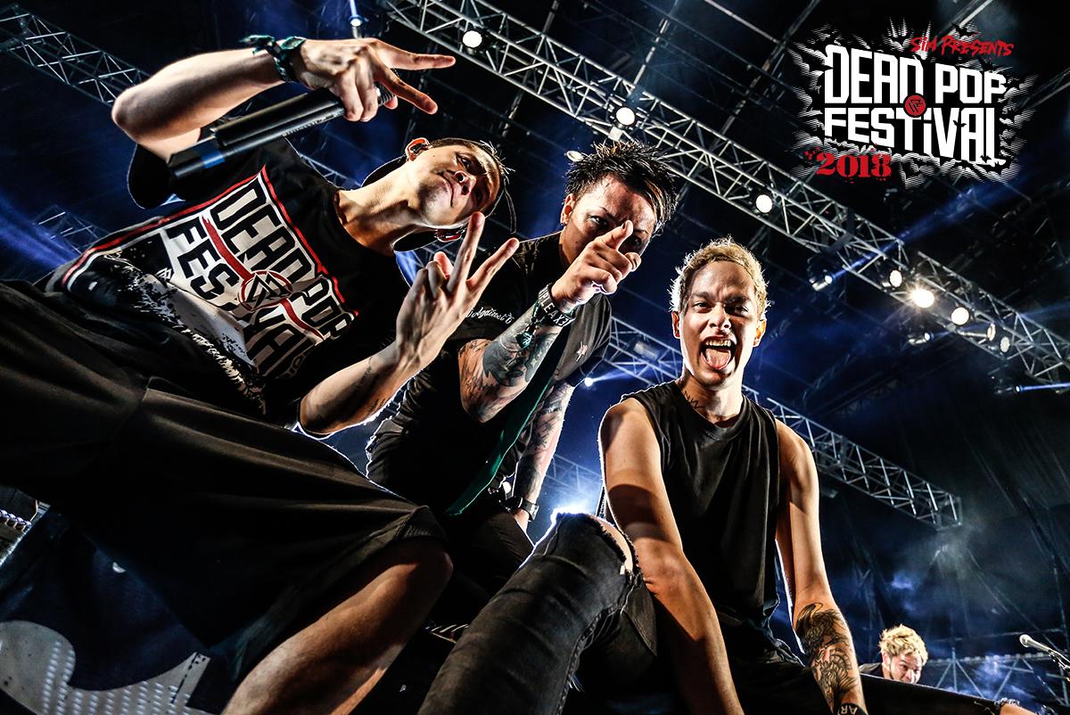 Taka(ONE OK ROCK)、MAH(SiM)、Masato(coldrain)