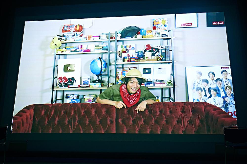 ビデオメッセージで出演した伊沢拓司