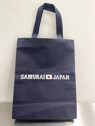 当日配布される「侍ジャパントートバッグ」
