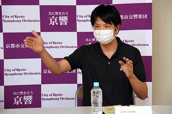 会場が癒しの場になればいいなと思っています。 (C)H.isojima