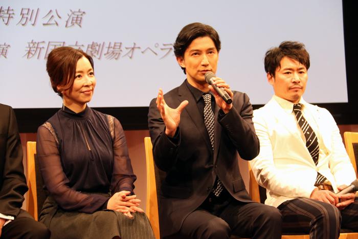 真矢ミキ、西島数博、坂元健児
