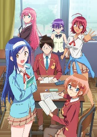 TVアニメ『ぼくたちは勉強ができない』二期最新PV公開!「Study」ワンマンライブ用描き下ろしビジュアルも