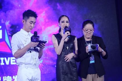 中島美嘉が北京で会見 自身初となる中国公演の開催を発表